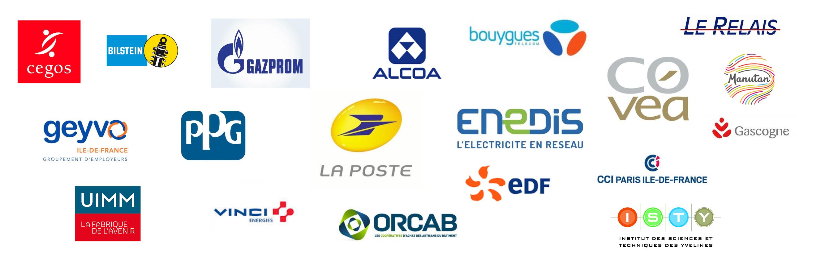 Logo Clients Clévoluence